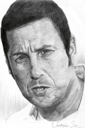 Adam Sandler by christophersia